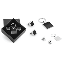 Key Chain and Cufflink Boxed Set