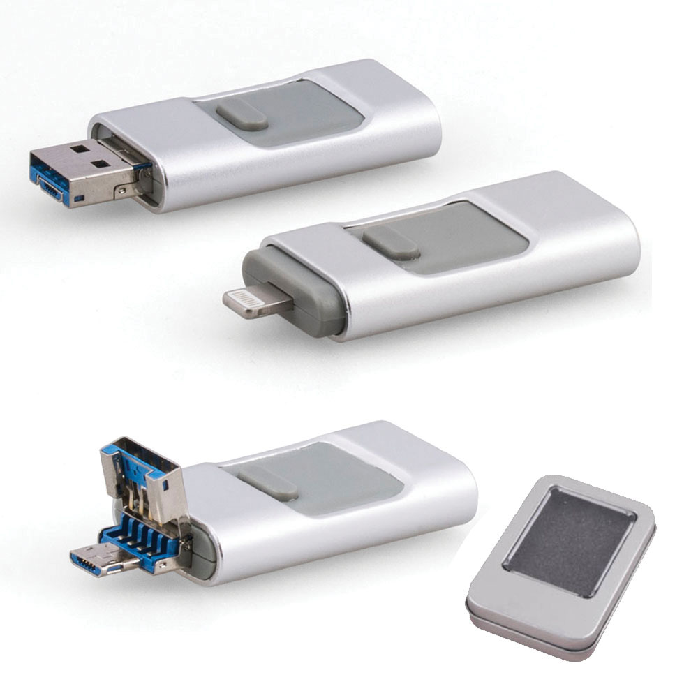 32 GB Metal USB Bellek